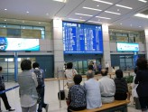 仁川空港入国出口