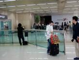 金浦空港入国出口