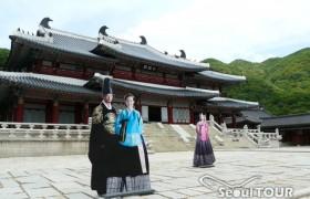 龍仁大長今パーク(旧 MBCドラミア)+世界文化遺産(昌徳宮・宗廟)ツアー