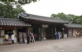 水原華城(スウォンファソン)と韓国民俗村
