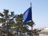旗の色が変わる地点