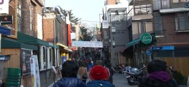 世界各国の人々が集まる街・梨泰院